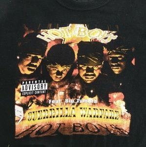 CASH MONEY RECORDS Shirts - VINTAGE 90'S CASH MONEY HOT BOYS SHIRT